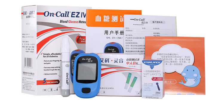 OnCall EZ IV Glucometer