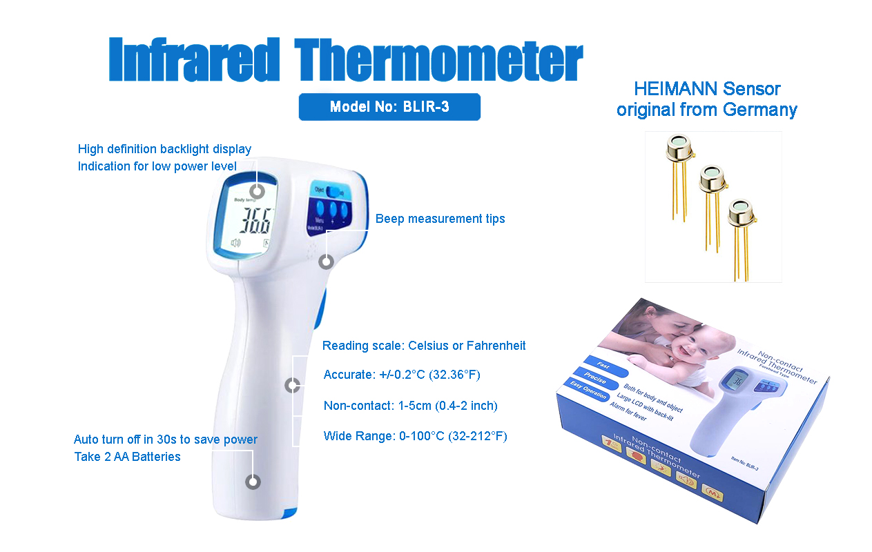 Infrared Thermometer - BABYLY