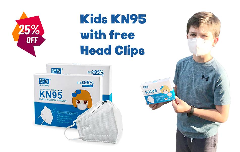 KN95 Kids Mask - 25%off